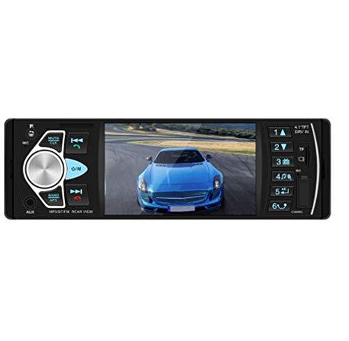 Huashao 4,1 Zoll HD, Großbild, Bluetooth, Freisprecheinrichtung, Auto, MP5-Player, U-Disk, CD-Radio, Investitionspriorität 4022D, umgekehrtes Bild