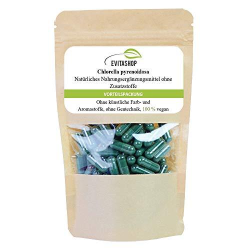 1 Packung 100% reines Chlorella - pyrenoidosa - 60 x 400mg Vegi-Kapseln