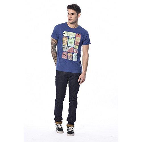 DeeLuxe Herren T-Shirt Hold Blau