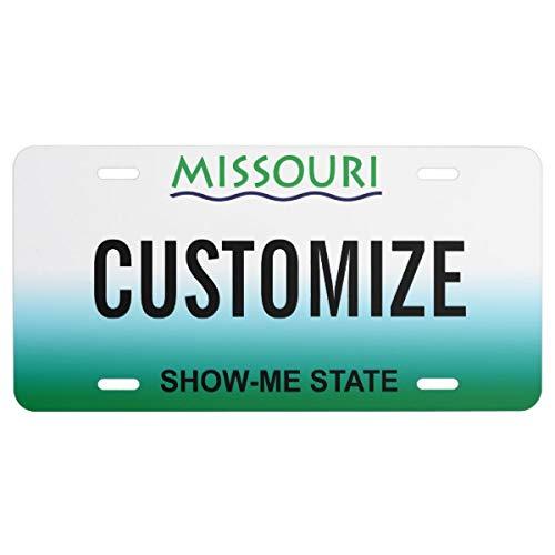 Missouri Custom License Plate (License Missouri Plate)