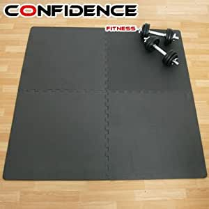 Confidence Eva Tapis De Sol Dalles De Protection Sports Et Loisirs