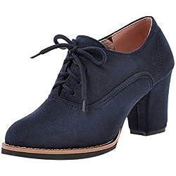 ZODOF Botas Exquisitas Medieval Style para Mujer Ocio Mujer Zapatos Hebilla de Color Sólido Antideslizante Punta Redonda Tubo Largo Navidad Boots