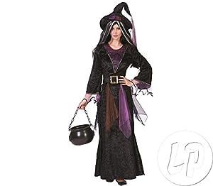 Funny Fashion 504009 - Disfraz de bruja para mujer (talla 40/42)