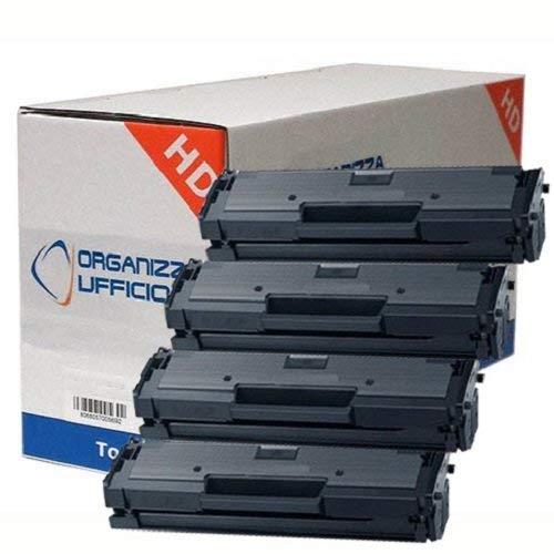 Organizza Ufficio 4 Super Toner per Xpress M2070, M2070F, M2070FW, M2070W. Durata ***1.800*** Pag.al 5% di Copertura #MLT-D111S/L