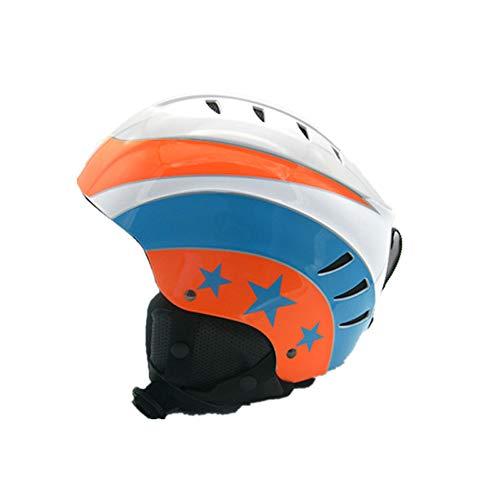 SMLJJHW Helm, Kinderskihelm, Unisex-Helm für Erwachsene, Extreme Challenge-Schneesporthelm, geringes Gewicht, einzigartige Form, Gute Belüftung