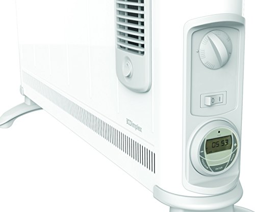 410nBjcDRaL - Dimplex 3KW 403TSFTie Electric Convector Heater with Turbo Boost and Timer