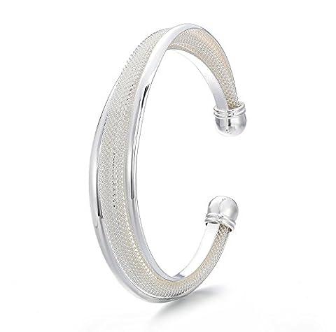 VIKI LYNN - Bracelet Femme en Argent 925 Plaqué - Bijoux Pas cher - Vente Seule - Simple et