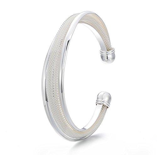 Viki-Lynn-Armband-versilbert-mit-Sterling-Silber-925-Einzelverkauf-einfach-Modeschmuck