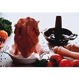 Römertopf Plat de cuisson pour poulet Blanc