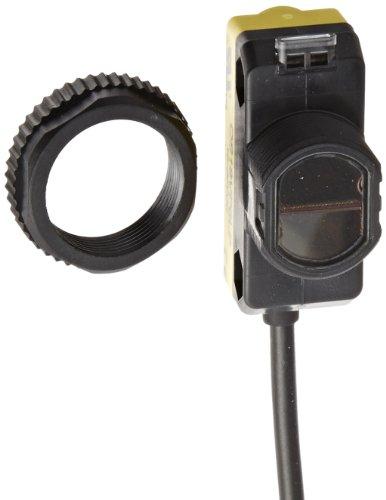Banner QS18VP6LP Welt Beam Universal Compact Sensor, polarized-retroreflective Sensing-Modus, 2m PVC 4-Kabel, sichtbar Rot LED, 10-30VDC Versorgungsspannung, Solid-State-PNP-Ausgang, 3,5m Sensing Serie