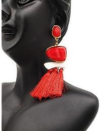 Satyam Kraft Fashionable Stone Tassel Earring For Women For Wedding/jewellery/traditional Jewellery/jewellery...