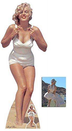 es Badeanzug Lebensgrosse und klein Pappaufsteller - mit 25cm x 20cm foto ()