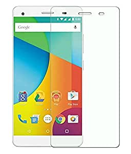 TECH SHIELD Full Screen Coverage Curved Edge Tempered Glass Screen Protector for LAVA X5