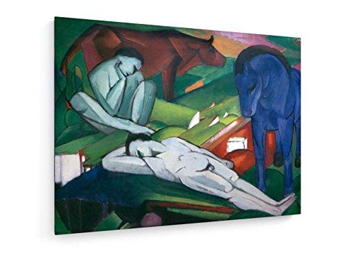 franz-marc-los-pastores-1912-60x45-cm-weewado-impresiones-sobre-lienzo-muro-de-arte-antiguos-maestro