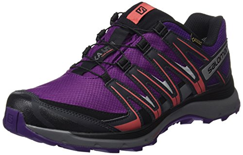 Salomon XA lite GTX W, Zapatillas de Trail Running para Mujer, Violeta (Grape Juice/Acai/Phantom), 38 EU