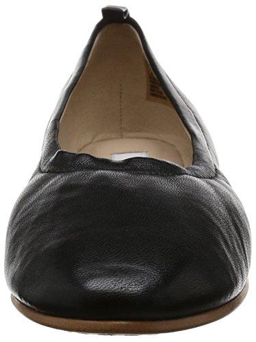 Clarks 261230604, Ballerini Donna Nero (Black Leather)