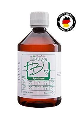VPG 50/50 (500 - 5000 ml ) Base E Liquid ohne Nikotin Basis von eliquidlounge