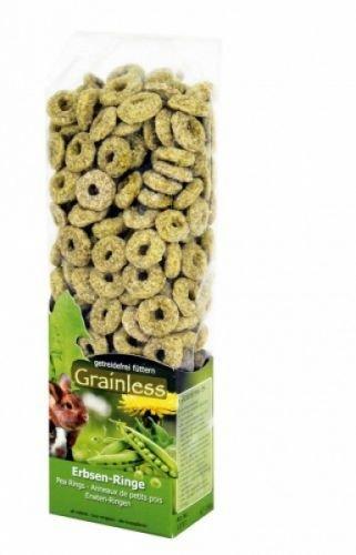 JR-Farm Grainless Erbsen-Ringe 150g (Kaninchen-gemüse-sticks)