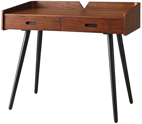 Jual Vienna Holz Schreibtisch mit 2Schubladen-walnuss