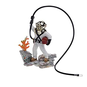 Dairyshop Aquarium Fish Tank Sea Treasure Diver Hunter Air Action Ornament Decoration Gift