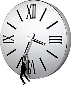 Balvi - Horloge d.41 Hold! noir acier