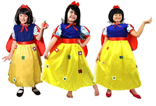ILOVEFANCYDRESS Zombie Schneewittchen Halloween Kinder Kleid KOSTÜM+ Kunst Blut+Make up = Das Kleid 4 Verschiedenen GRÖSSEN = FÜR Halloween Oder Jede Gruselige - Für Make-up Schneewittchen Halloween