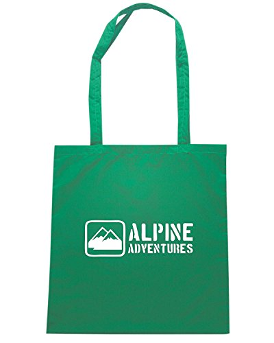 T-Shirtshock - Borsa Shopping SP0002 Alpine Adventures Maglietta1 Verde
