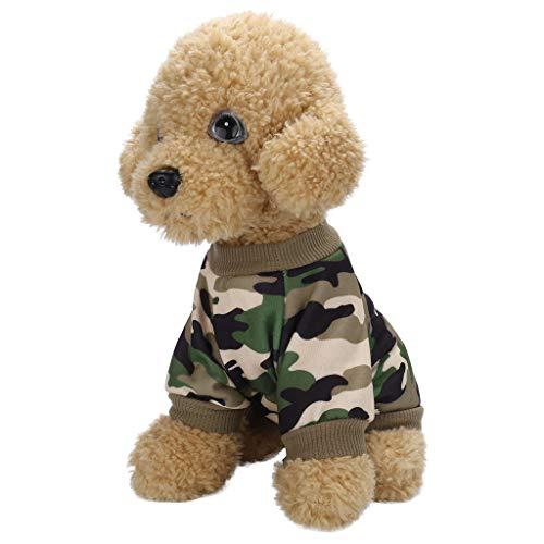 Hundeweste,Hundemantel für kleine Hunde, Anastasia.Hundekostüm Leopard Kleid Strickwaren Hundepullover Hundemantel Katzen Kleidung Puppy Hoodie Kleidung Warmer Wintermantel Pet Coat P021 -