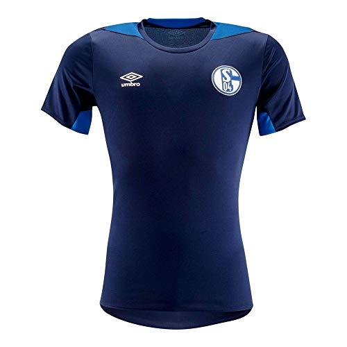 Umbro Fußball FC Schalke 04 S04 Trainingstrikot Fußballtrikot Kinder Gr 152-158 (Umbro Trainings-shirt)
