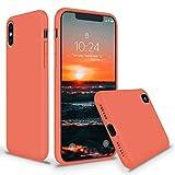 SURPHY Coque iPhone XS Max 6,5'', Coque iPhone XS Max Anti-Choc Silicone Liquide...