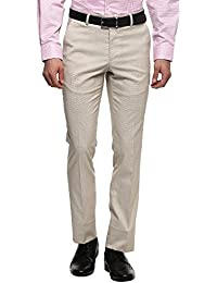 Stop Mens 4 Pocket Textured Formal Trousers