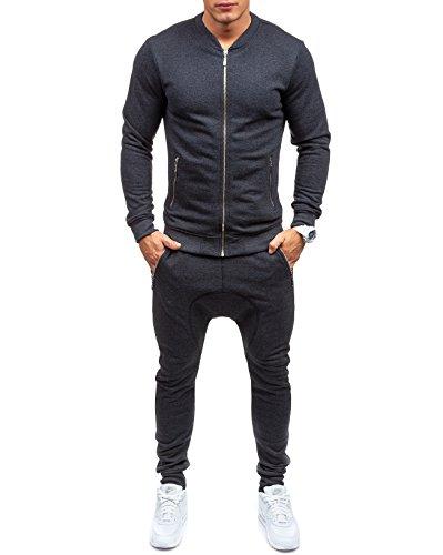 BOLF 43S Anthrazit M [8H8] Outerwear Sporthose Trainingsbluse Jogginganzug Fitnesshose |