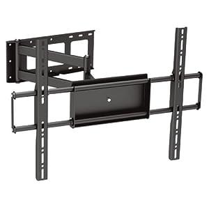 """Black Full-Motion Tilt/Swivel Corner Friendly Wall Mount Bracket for Sony Bravia XBR-55A1E 55"""" inch 4K OLED HDTV/Television - Articulating/Tilting/Swiveling"""