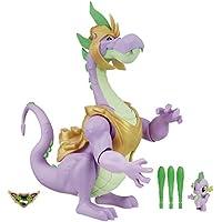 Mon Petit Poney Jouet–Gardiens de Harmony lumière Son 33cm Spike Le Dragon Action Figure et bébé