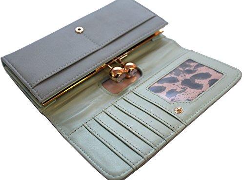Le novità autentica martinee ANNA ANNA SMITH SMITH con tasca in oro logo piastra, borsa, clutch con scatola regalo blu
