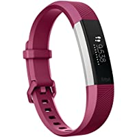 Fitbit Alta Hr Braccialetto Wireless Monitoraggio Battito Cardiaco Unisex, Fucsia, Taglia S