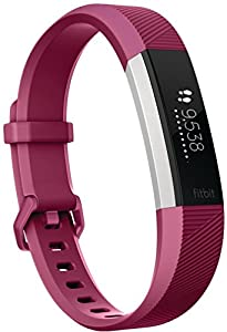 Fitbit Alta HR Fitness Wristband - Fuchsia, Small (5.5-6.7 in)