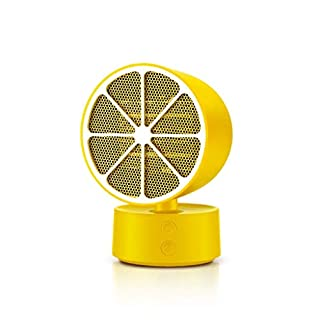 ZBJJ MINI Fan Heaters,Electri Air Fast Heater Powerful Warm Blower Portable Stove Radiator Room (Color : Yellow)