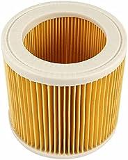 اكياس ترشيح الغبار الهوائة البديلة، متوافقة مع المكنسة الكهربائية من كارتشر، اسطوانة هيبا فلتر مناسبة لمكنسة W