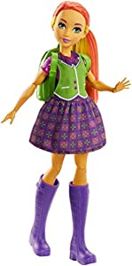 DC Superhero Girls- Muñeca superheroína Starfire transformación, (Mattel FRF89)