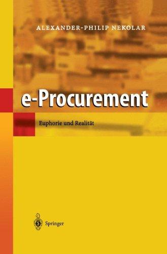 e-Procurement: Euphorie und Realität