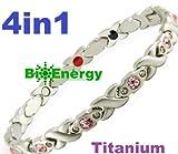 Titanio magnetico energia germanio bracciale Potenza Bracciale Salute Bio 4in1 67