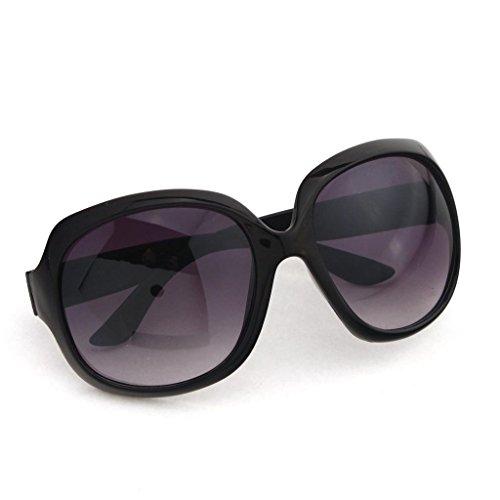 Damen Sonnenbrille mit Farbverlauf verspiegelte Gläser übergroßes Design, 64mm, Sonnenbrille, mehrfarbig