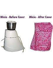 SUVE Mixer Grinder Cover for Preethi Blue Leaf, Prestige Iris, Preethi Zodiac, Lifelong Power Pro 500-Watt, Bajaj Rex 500-Watt (Multicolour)