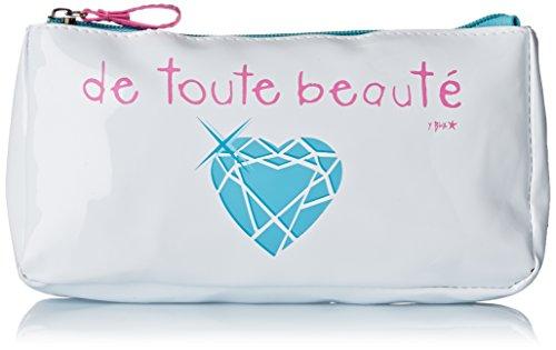 Incidence Paris Trousse à Maquillage de Toute Beauté, 20 cm, Blanc