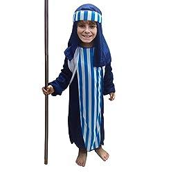 Kono World Book Day Boys' Pirate Carribean Dalmatian Dog Shepherd Joseph Children Fancy Dress Costume Outfit