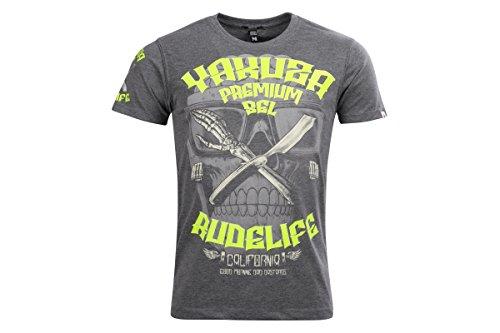 Yakuza Premium T-Shirt YPS2310 Grau