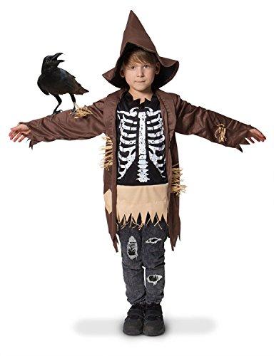 Imagen de espantapajaros niño medidas 98 116 talla s halloween carnaval disfraz niño folat 63274 alternativa