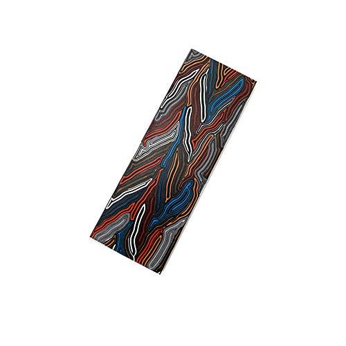 Aibote 1 stück G10 Glasfaser Damaskus Muster Messer Griff Material Skala Platte Benutzerdefinierte DIY Werkzeug für Messerherstellung Rohlinge Klingen -