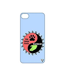 Vogueshell Stop Animal Cruelty Printed Symmetry PRO Series Hard Back Case for Apple iPhone 6 Plus